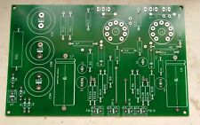 pcb circuito stampato amplificatore valvolare LO SCHERZO stereo ECL82