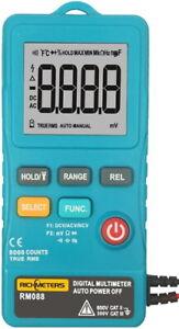 RM088 Richmeters Kleinstes Multimeter 8000 Counts TrueRMS Autobereichswahl NCV