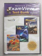 %Prentice Hall Physical Life and Earth Science ExamView Test Bank CD 0132035243