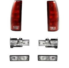 Chevy GMC Truck Head Lights Park Lamps Tail Lights 1994-1998 Set/6 95-99 Tahoe