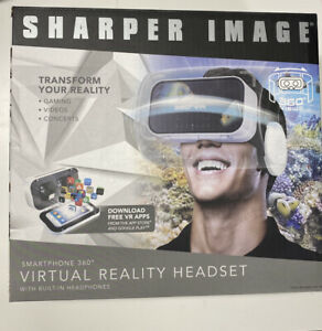 Sharper Image Smartphone 360 Virtual Reality Headset New