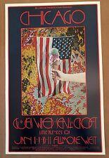 Near MINT Chicago Guess Who 1970 BG 211 ORIGINAL Fillmore Poster