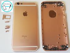 Backcover Akkudeckel Rück Gehäuse Rahmen für Apple iPhone 6S Rose Gold mit Taste