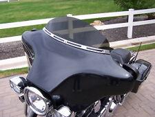 Harley Davidson Touring 6 in Dark Grey Windshield 1996-2013 Batwing Fairing
