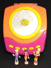 Polly Pocket Mini 💛 1998 CD Player-mattel/Bluebird Music 100%