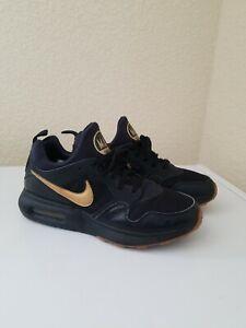 Nike Air Max Prime Men's Running Shoes Black/Metallic Gold 876068-008 size 10.5