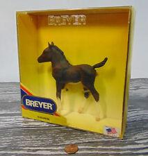 NEW Breyer SURE FIRE FOAL HORSE # 985 Pinto Philly Colt White Blaze & Socks USA!