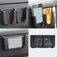 1X Black Car interior Phone Pen Organizer Storage Bag Box Holder Black Cradle