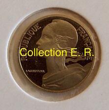 5 centimes Marianne 1999 Col à 3 plis BE