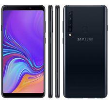 Samsung Galaxy A9, Dual SIM, Nero Caviale, 128GB - 6GB, Garanzia Ufficiale