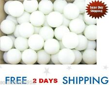 144 Ping Pong Table Tennis Balls 1 Gross Beer Bulk Wholesale White Play