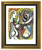 """Pablo Picasso """"Girl Before Mirror"""" Signed & Hand-Number Ltd Ed Print (unframed)"""