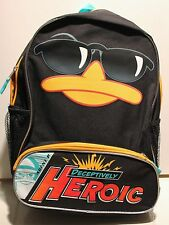 """PHINEAS & FERB PERRY THE PLATYPUS BACKPACK 16"""" Boys Bag School Disney Child NEW"""