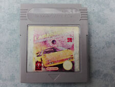 LAMBORGHINI AMERICAN CHALLENGE - NINTENDO GAME BOY, COLOR GBC, ADVANCE GBA LOOSE