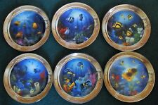 Royal Doulton/Franklin Mint – Vintage Porthole Collector Plates – Set Of 6