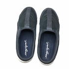 Easy-Spirit-Womens-Traveltime-Clogs-Comfort-Shoes-Navy-Leather-Slip-On-Mules-7M