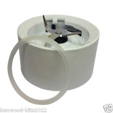 Kitchenaid Blender Jar Base Collar With Blades In White With A New Seal.