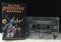 Bill and Ted's Excellent Adventure Soundtrack 10 track 1989 CASSETTE TAPE &
