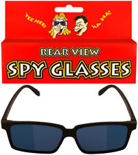 6 x Black Mirror Rear View Spy Glasses Stock Filler