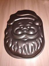WILTON Teglia per Torte a forma di Babbo Natale in Inox