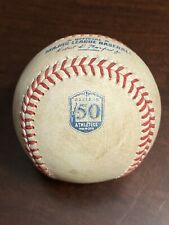 Matt Chapman Mlb Authenticated Game Used Baseball *Single* Oakland A'S 50th Logo