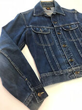 Vintage 50s Lee Riders 101 J jeans denim Red tag jacket Union Made USA Size 34