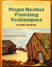 VINTAGE Magic Realist Painting Techniques by Rudy De Reyna Watercolor 1973 Book