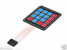 16 Key Membrane Switch Keypad Keyboard 4 x 4 Matrix Array Arduino Folientastatur