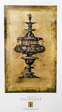 """""""Vasi Ornate I"""" by Augustine 39x22"""" Reproduction"""