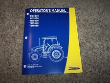 NH New Holland TD5010 TD5020 TD5040 TD5050 Tractor Owner Operator Manual
