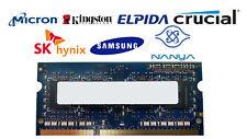 2gb DDR3-1066 PC3-8500S 1Rx8 DDR3 Sdram Memoria para Portátil