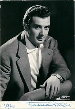 Opera Star Tenor FRANCO CORELLI - stunning Hand Signed 14,5x10 photo Autograph