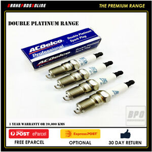 Spark Plug 4 Pack for Daewoo Lanos 1.6L 4 CYL A16 9/97-6/05 41801
