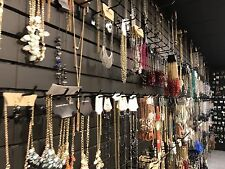 New Lot Of 60 Mix Fashion Jewelry Necklaces, Earrings,rings Usa Seller Wholesale