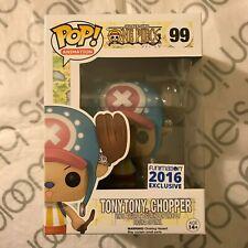 Funko Pop! One Piece Flocked Tony Tony Chopper #99 2016 Funimation Exclusive!