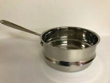 ALL CLAD STAINLESS STEEL STEAMER INSERT 8 INCH GREAT CLEAN CONDITION