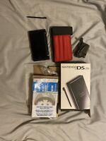 Nintendo DS Lite Handheld Console - Onyx Black Bundle