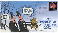 2016, Ground Hog Day, Local Postmark, Geneva NY, 16-003