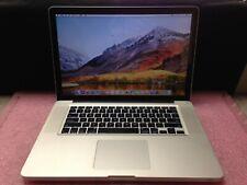 Apple Macbook Pro A1286 2011 Intel i7 2760QM@2.4GHz 8GB RAM 750GB HDD | C893