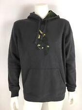 Browning Men's Sz L Buckmark Logo Hoodie Sweatshirt Gray Realtree Camo NWT