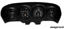 New Vintage USA 1969-70 Ford Mustang Direct Fit Black Gauge Package,Mach I,GT350