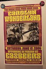 CAROLYN WONDERLAND San Antonio TX (2006) Concert Poster guitar BLUES
