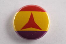 "Spain Spanish Republic International Brigades Communist Flag 1"" Button Badge Pin"