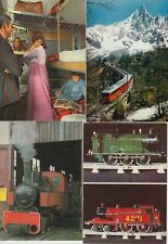 TRAINS LOCS RAILWAY France 79 Cartes-Postales 1960-1980