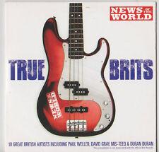 TRUE BRITS PROMO CD DURAN DURAN FEEDER MOLOKO TOPLOADER DAVID GRAY THE FARM PAUL