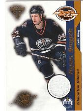 2000/1 Titanium Draft Day Ryan Smyth jersey card 0976/1015 Oilers