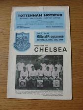 18/03/1967 Tottenham Hotspur v Chelsea  (Creased, Torn)