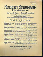 Robert Schumann - Klavierwerke No. 22 - Novellettes Op. 21