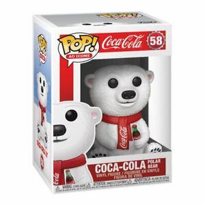 Coca-Cola POP! Ad Icons Vinyl Figur Coca-Cola Polar Bear 9 cm - Funko