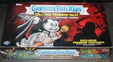 2018 GARBAGE PAIL KIDS S2 OH THE HORROR-IBLE COLLECTOR EDITION BOX PLATE SKETCH